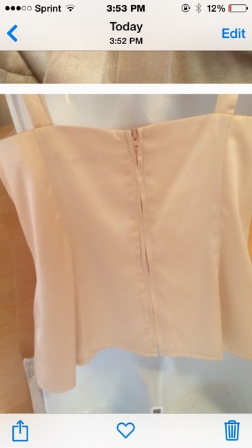Nanette Lepore Top Peach