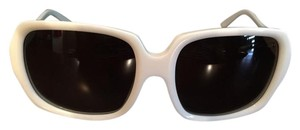 Burberry Burberry Women's Sunglasses- White Frame B4044 3013/13