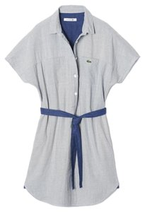 Lacoste short dress Shirt Button Down on Tradesy
