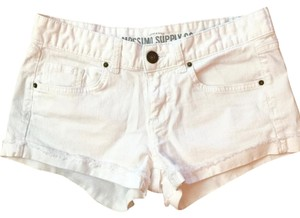 Mossimo Supply Co. Summer Mini/Short Shorts White