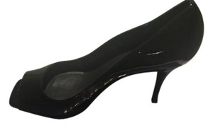 Stuart Weitzman Patent Leather Black Pumps