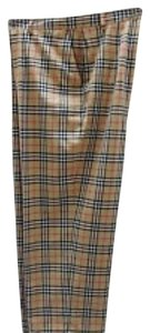 Burberry Capri/Cropped Pants Signature check