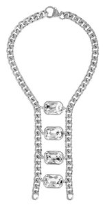 eklexic OCTAGON LADDER NECKLACE (Silver)