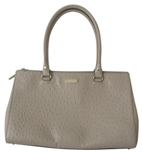 Kate Spade Ostrich Leather Ostrich Laptop Office Shoulder Bag