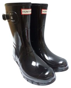 Hunter Cushioned Sponge Rubber Black Boots
