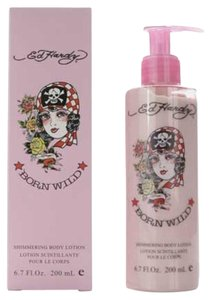 Ed Hardy ED HARDY BORN WILD SHIMMER BODY Lotion 6.7 OZ for Women