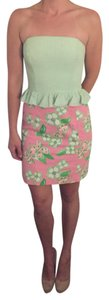 Lilly Pulitzer Strapless Dress Dress