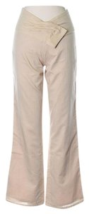 Isabel Marant Low-rise Boot Cut Pants Beige