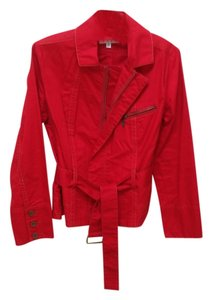 CAbi red Womens Jean Jacket