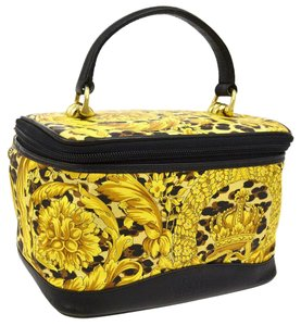 Versace Vintage Leopard Travel Bag
