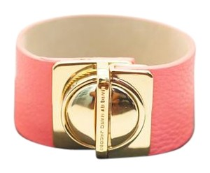 Marc by Marc Jacobs Marc By Marc Jacobs Clip On Leather Cuff Bracelet