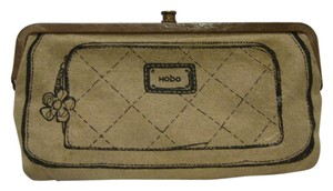 Hobo International HOBO CLUTCH WALLET PURSE *DOUBLE KISS-LOCK*