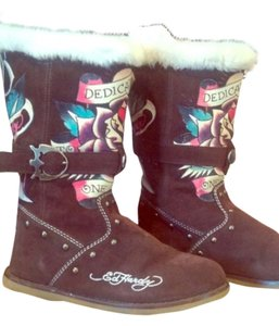 379e79453c9 Ed Hardy Boots & Booties Regular (M, B) Up to 90% off at Tradesy