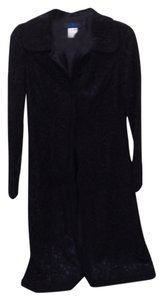 Sue Wong Duster Lace Evening Wear Black Blazer