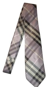 Burberry Burberry Silk Tie Pale Thistle