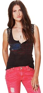 Free People American Top Black
