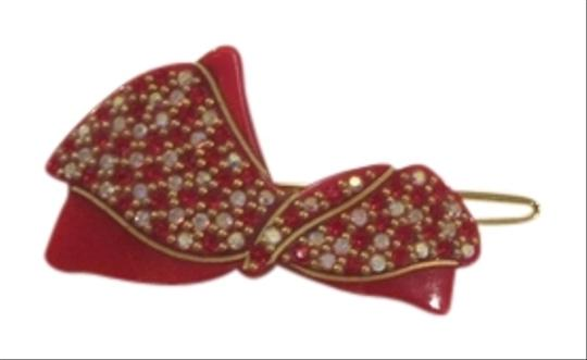 Other Ribbon Hair Slide with Inset Crystals