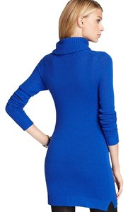 Theory Turtleneck Cashmere Ribbed Tunic