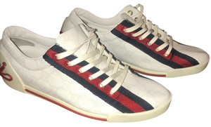 Gucci White, Red & Blue Athletic