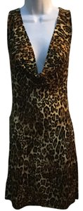 Lani short dress leopard on Tradesy