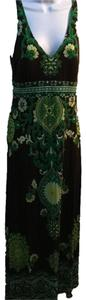 green,browns, multicolored Maxi Dress by INC International Concepts