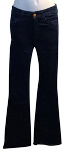 MiH Jeans Flare Leg Jeans-Dark Rinse