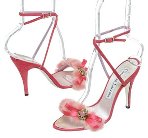 Christian Lacroix Pink Sandals