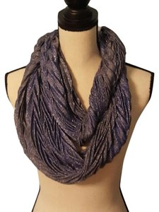 Collection Eighteen Blue/Purple Shimmer Infinity Scarf