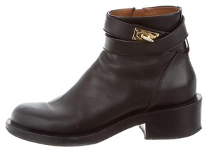 Givenchy Black, Gold Boots