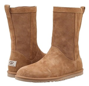 UGG Australia Perforated Chestnut Boots