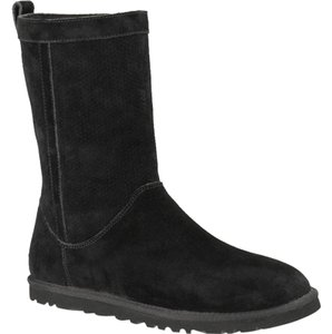 UGG Australia Perforated Black Boots