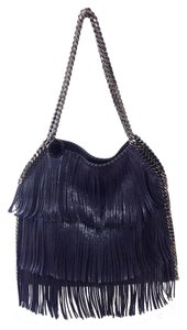 Stella McCartney Fringe Shiny Chain Shoulder Bag