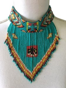 Other American Native Indian Beaded Necklace