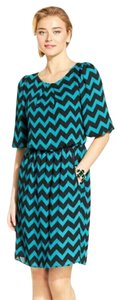 S.L. Fashions short dress Blouson Chevron Relaxed Half Sleeve on Tradesy