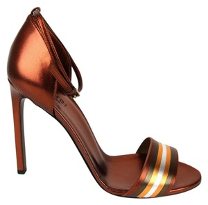 Gucci Gucci; 339834; Orange Sandals