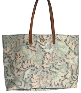 Tory Burch Tote in Multicolor Pastels