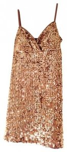 Forever 21 Minidress Attention Grabber Sequin Covered Cocktail Bachelorette Sexy Wear Dress