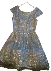 B. Darlin Prom Sparkle Skater Dress