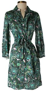 Lilly Pulitzer Paisley Shift Sheath Dress