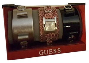 Guess Watch with 3 changeable straps