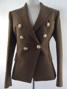 Balmain Neutral Bronze Blazer