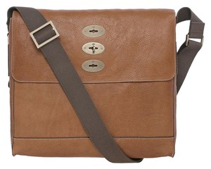Mulberry Brynmore Natural Leather Oak Men's Hh5625-342g110 Oak Natural Messenger Bag