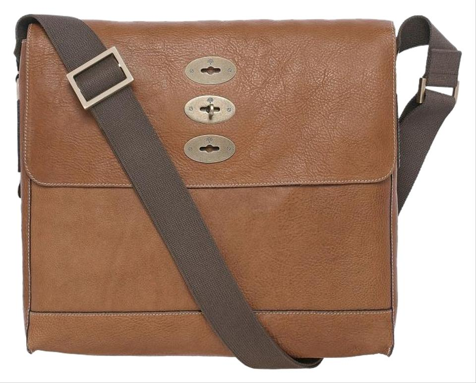 0a8926057f Mulberry Brynmore Oak Natural Leather Messenger Bag - Tradesy