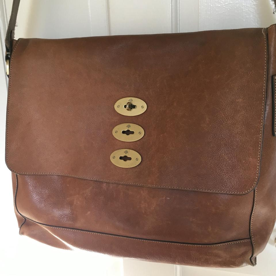 c6ef98c8b3 Mulberry Brynmore Oak Natural Leather Messenger Bag - Tradesy