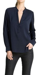Vince Silk Top Navy