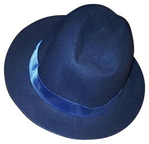 New York & Company Wool Blue Hat