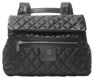 Chanel Leather Quilted Backpack