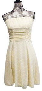 Forever Young short dress Cream on Tradesy
