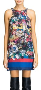 Cynthia Rowley short dress Racer Junk Print Stylish Printed on Tradesy