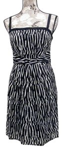 Ann Taylor short dress black & white on Tradesy